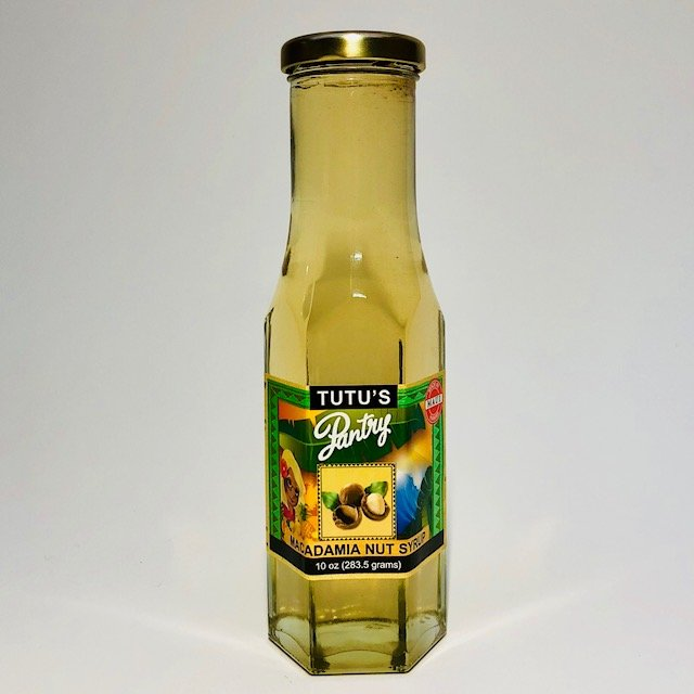 macadamia nut syrup