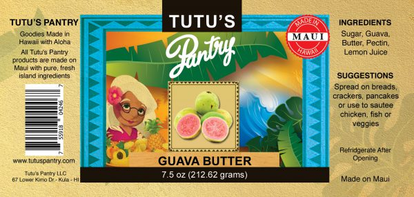 guava butter label