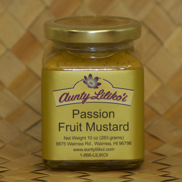 passion fruit mustard
