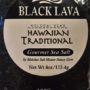 black lava sea salt