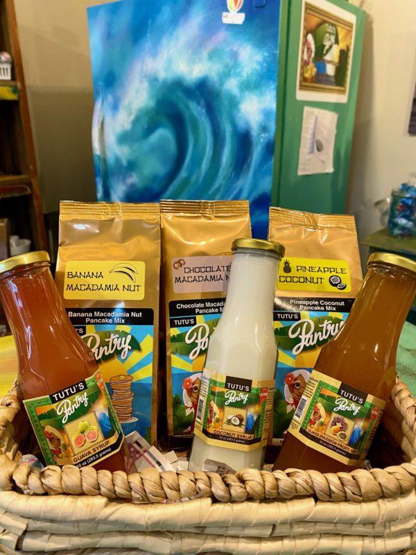Tutu's Pantry - Maui Pancakes and Syrup Gift Set - 1