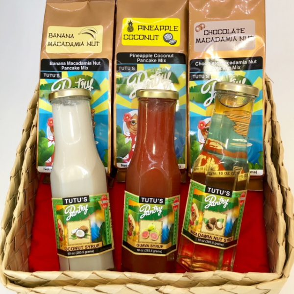 Tutu's Pantry - Maui Pancakes and Syrup Gift Set - 1