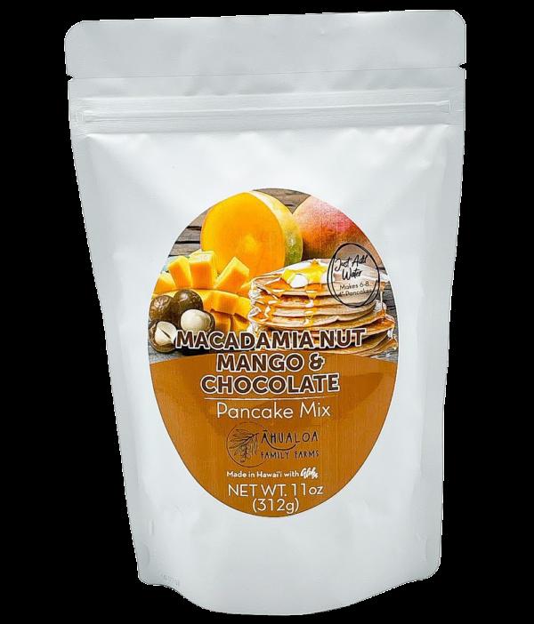 Tutu's Pantry - Macadamia Nut Pancake Mix with Mango and Chocolate Chips - 1