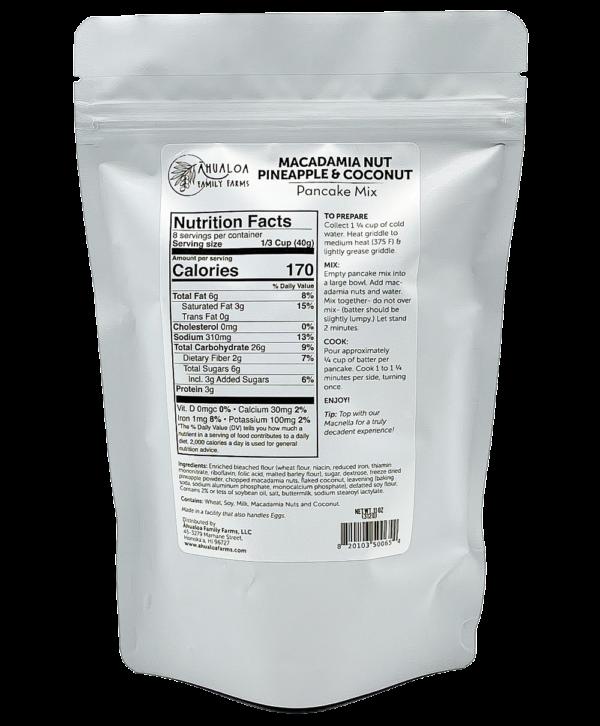 Tutu's Pantry - Macadamia Nut Pineapple Coconut Pancake Mix - 2