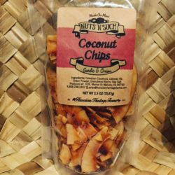 coconut chips garlic onion