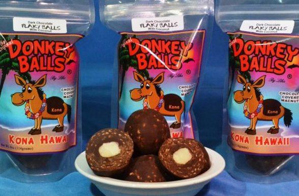 Flaky Donkey Balls