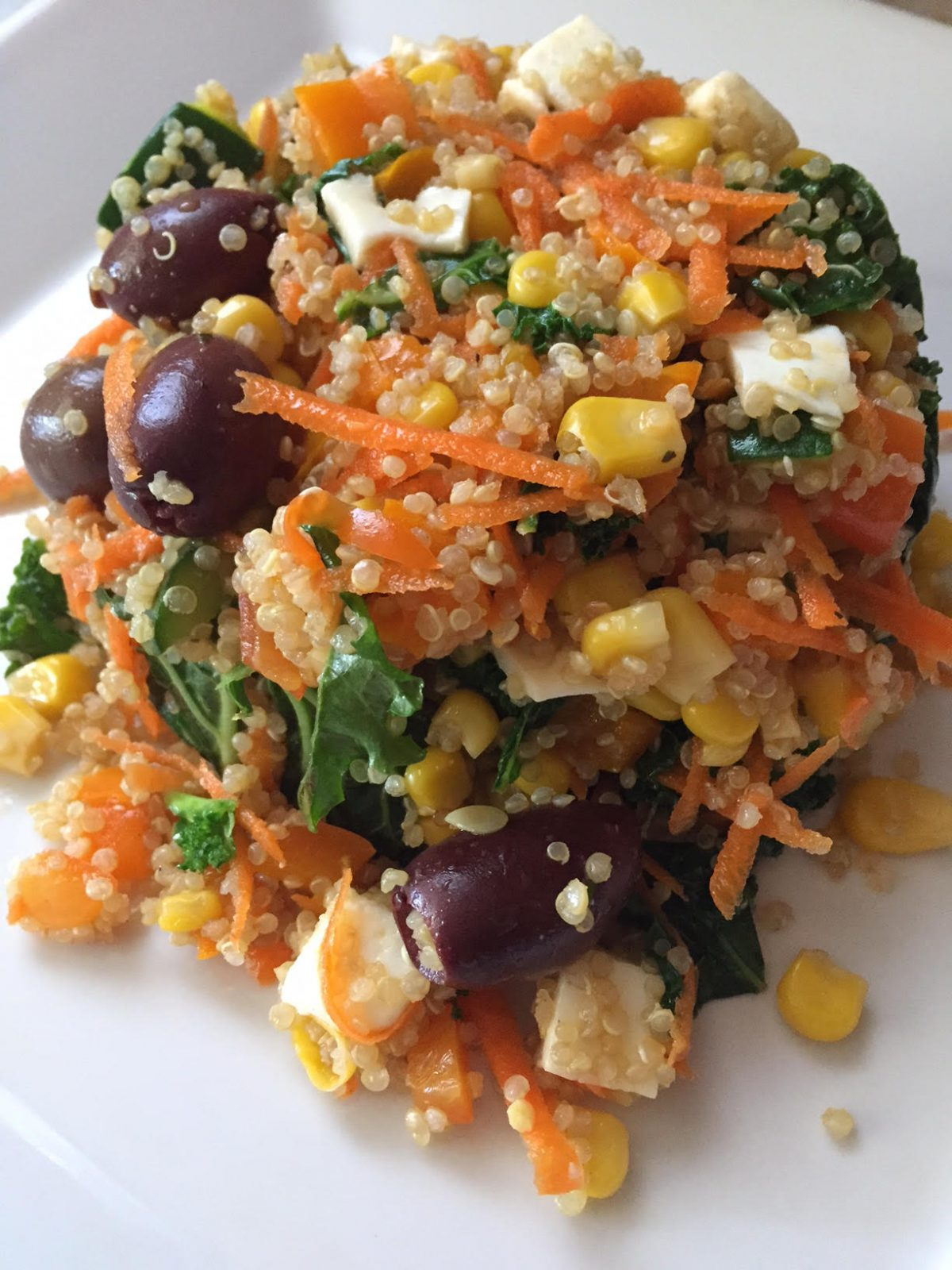 Quinoa full of colors salad