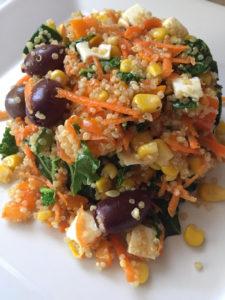 Quinoa full of colors salad