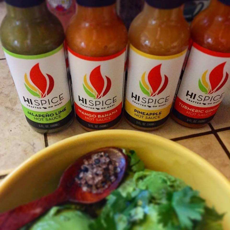 Hot Sauces Made on Maui