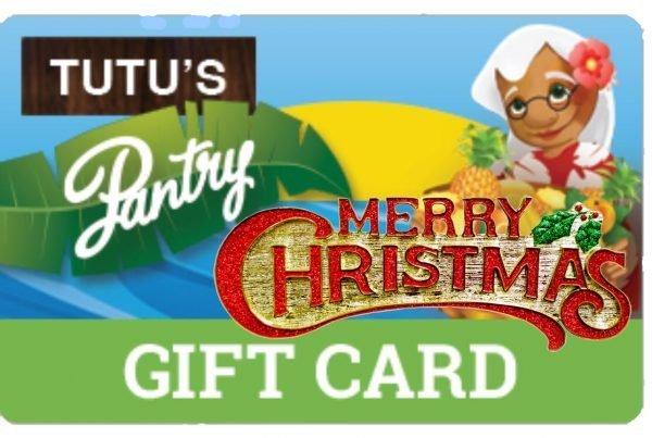 Tutu's Pantry - Merry Christmas Gift Card - Tutus Pantry - 2