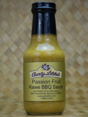 passion fruit kiawe bbq sauce