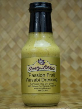 passion fruit wasabi dressing