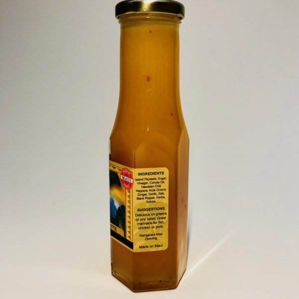 Tutu's Pantry - Papaya Vinaigrette - 4