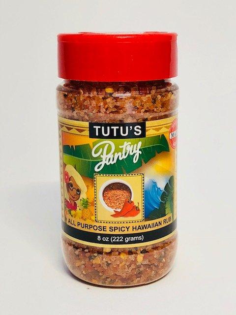 Tutu's Pantry - Spicy All Purpose Hawaiian Rub - 1