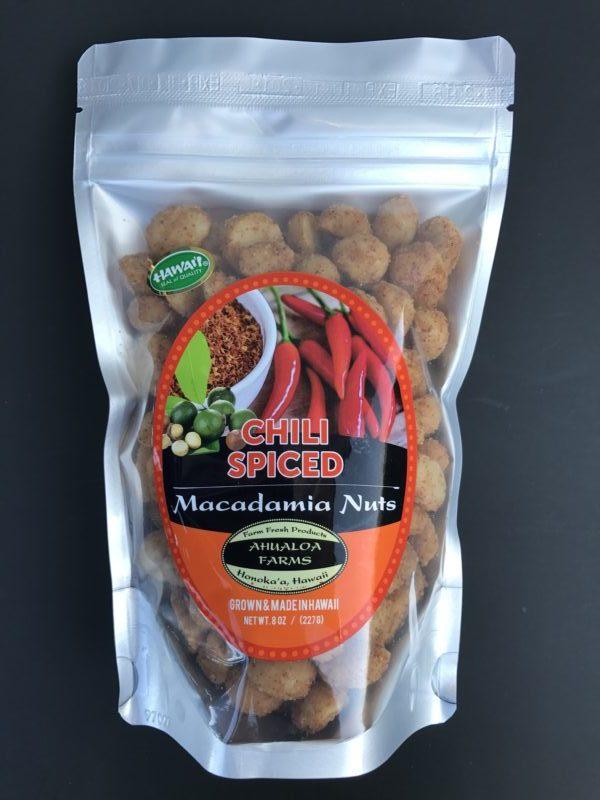 Tutu's Pantry - Chili Spiced Ahualoa Farms Macadamia Nuts - 1