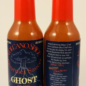 volcano spice ghost pepper hot sauce