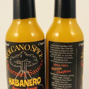 volcano spice habanero hot sauce