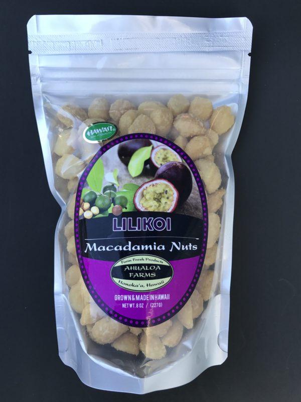 Lilikoi macadamia nuts