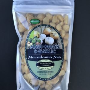 maui onion and garlic macadamia nuts