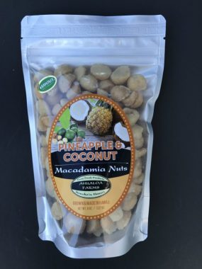 pineapple coconut macadamia nuts