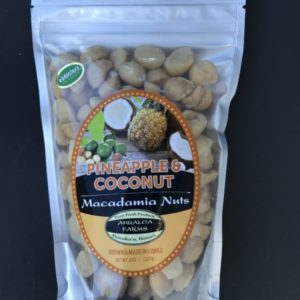 pineapple coconut macadamia nuts