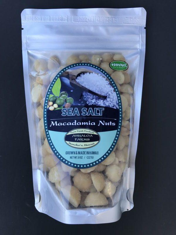 Tutu's Pantry - Sea Salt Ahualoa Farms Macadamia Nuts - 2