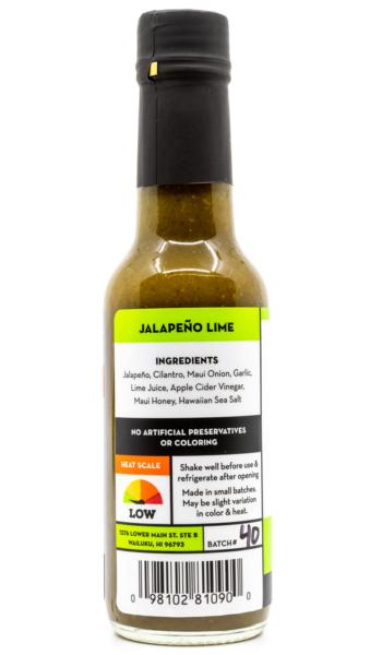 Tutu's Pantry - Hi Spice Jalapeno Lime Hot Sauce HOT - 4