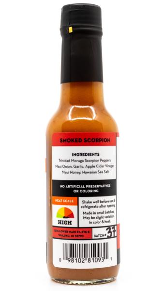 Tutu's Pantry - Hi Spice Smoked Scorpion Hot Sauce - 3