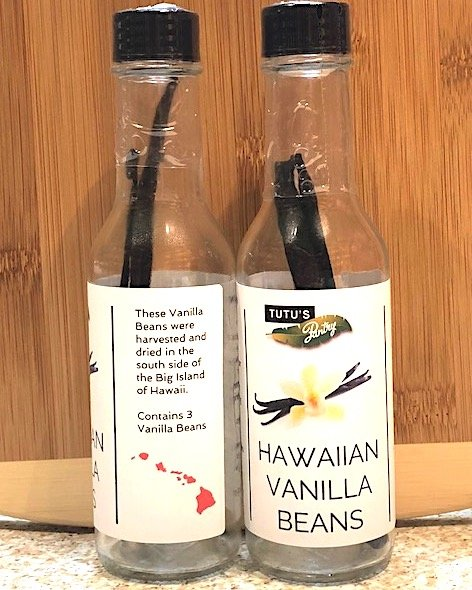Tutu's Pantry - Hawaiian Vanilla Beans - 1