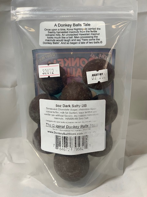 Dark salty donkey balls