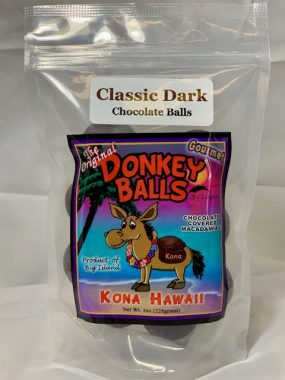 classic dark chocolate donkey balls