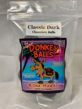 classic dark chocolate donkey balls