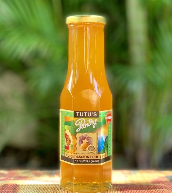 Tutu's Pantry - Lilikoi (Passion Fruit) Syrup - 2