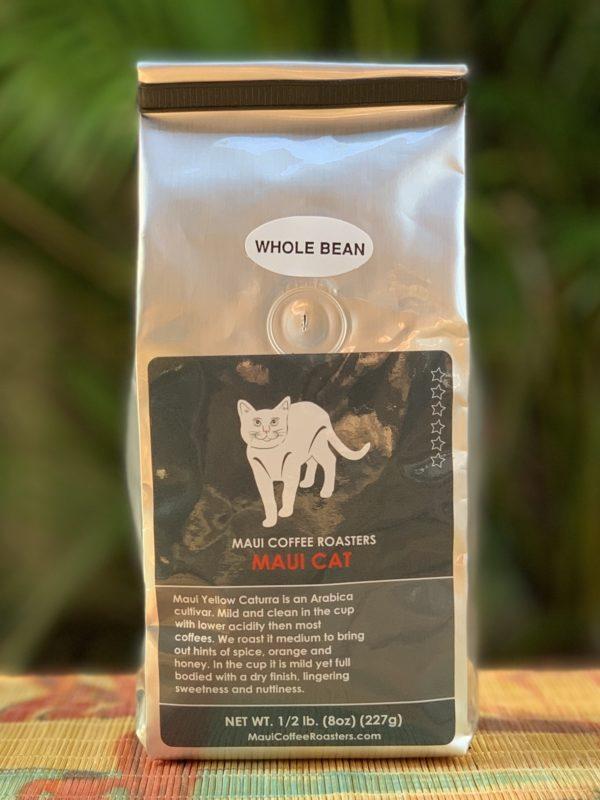 Tutu's Pantry - Maui Cat Coffee - Whole Bean - 1