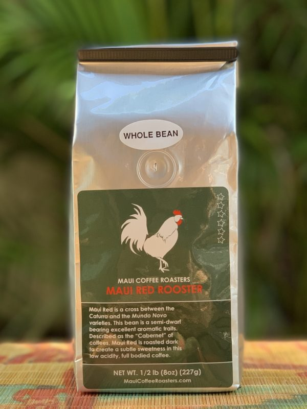 Tutu's Pantry - Maui Red Rooster Coffee - Dark Roast - Whole Bean - 1