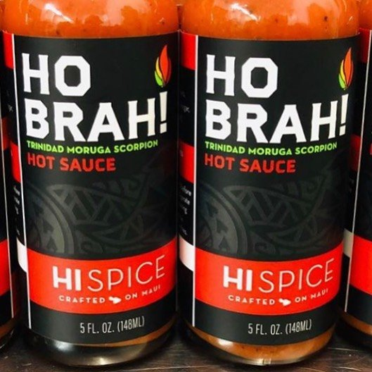 Tutu's Pantry - Hi Spice Ho Brah Scorpion Hot Sauce XXX HOT - 6