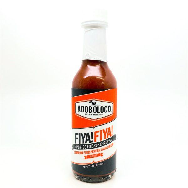 Tutu's Pantry - Fyia Fyia Hot Sauce Adobo Loco - 1