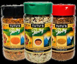 Tutu's Pantry - Tutu's Pantry Seasonings 12 Pack - 6