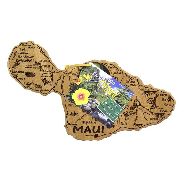 Tutu's Pantry - Maui Island Destination Bamboo Cutting Board - 2