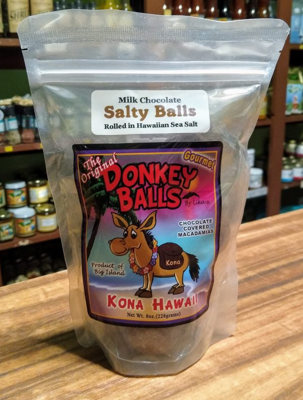Tutu's Pantry - Milk Chocolate Salty Balls - Donkey Balls 8oz - 1