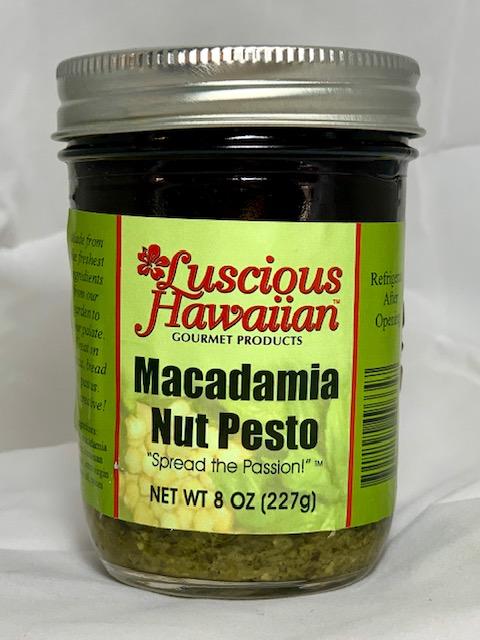 macadamia nut pesto