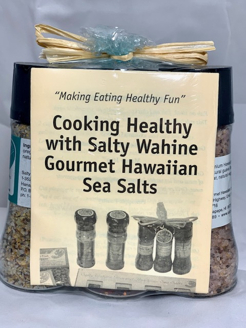 Tutu's Pantry - Salty Wahine 3pk Gift Set Grinders - Guava Garlic/Passion Chili/Pineapple Poultry - 1