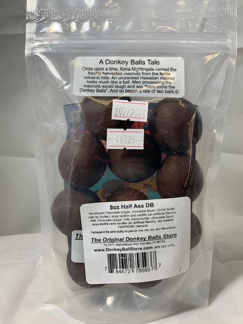 half ass donkey balls