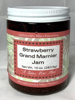 strawberry grand marnier jam