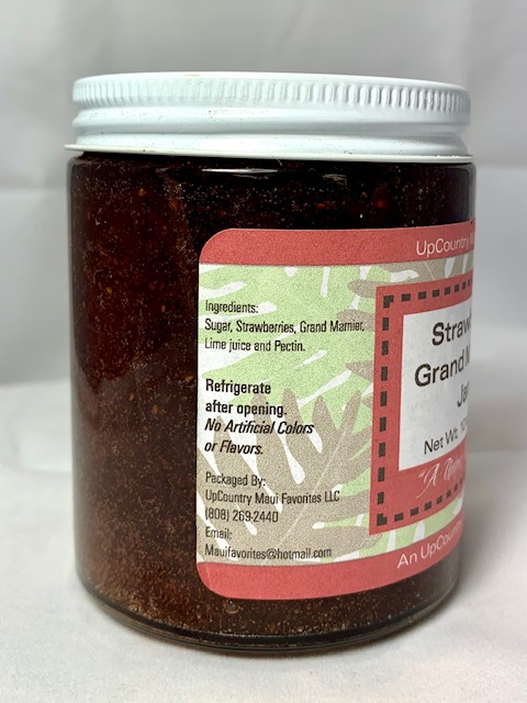 Tutu's Pantry - Strawberry Grand Marnier Jam - 1