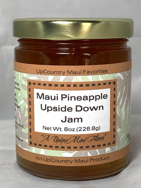maui pineapple upside down jam