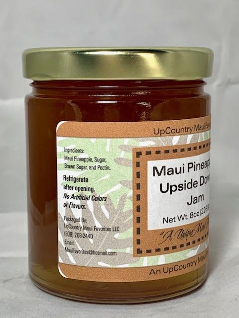 maui pineapple upside down jam