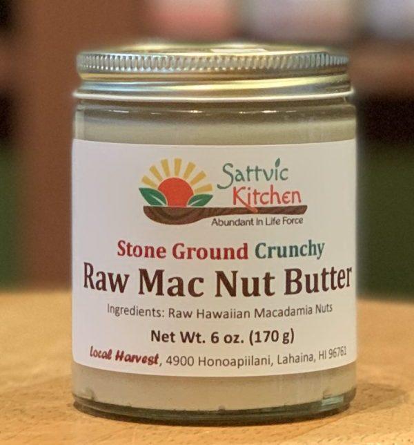 raw macadamia nut butter