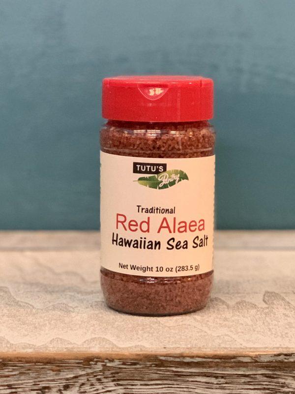 Tutu's Pantry - Tutu's Red Alaea Hawaiian Sea Salt 10oz - 2