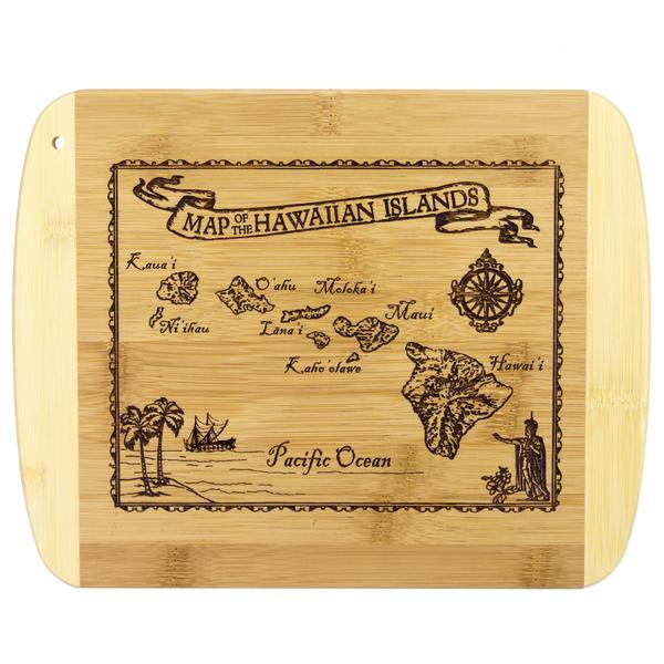 map cutting board